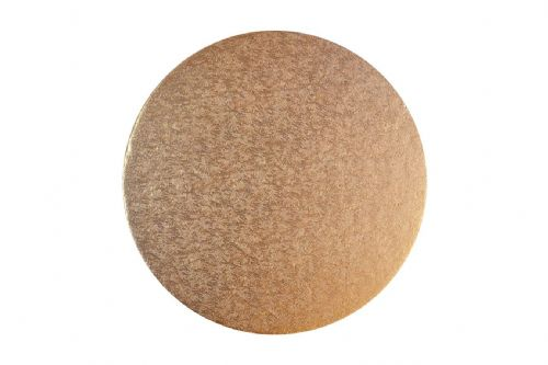 "14"" Cake Board Round Rose Gold"